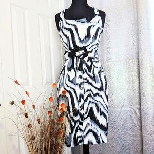 CACHE Sleeveless Halter Dress Sz 4